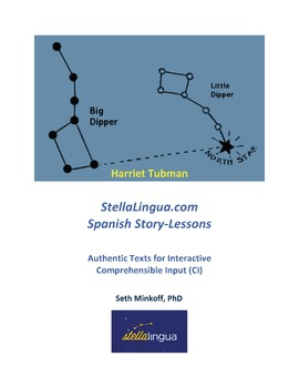 Comprehensible-Input Spanish Story-Lessons -- Harriet Tubman: sample lesson