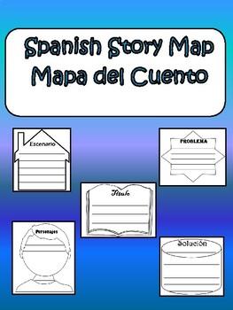 Spanish Story Map - Mapa del Cuento