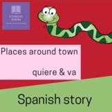 Spanish Story & Activities--Serpiente Quiere un Amigo