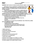 Spanish Story: The Telephone Number