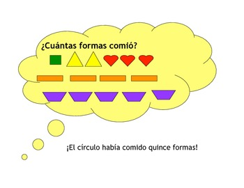 Spanish Story to Practice Numbers, Shapes, and Colors