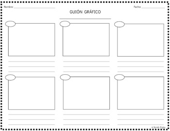 Storyboard Graphic Organizer & Worksheets | Teachers Pay
