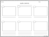 Spanish Storyboard Graphic Organizer / Guión Gráfico (With