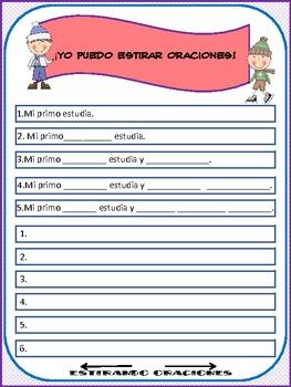 Spanish Streching Sentences II