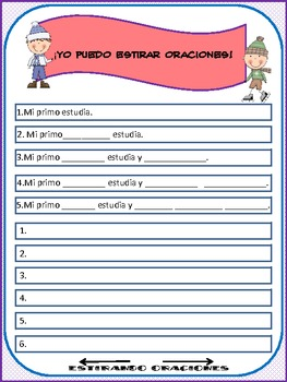Spanish Streching Sentences II