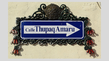 Spanish Street Signs (Cusco edition)