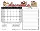 Spanish Student Behavior Calendar August 2016- July 2017