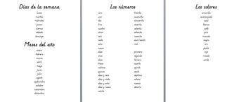 Spanish Student Dictionary/Writing Aid (Diccionario/Ayudante de escritura)