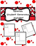 Spanish Student Generated Alphabet Template