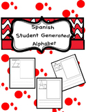 Spanish Student Generated Alphabet Template