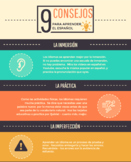 Spanish Study Tips Infographic (en español)