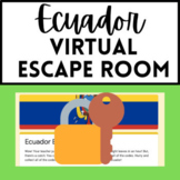 Spanish Sub Plan - Ecuador Virtual Escape Room