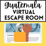 Spanish Sub Plan - Guatemala Virtual Escape Room