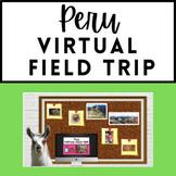 Spanish Sub Plan - Peru Virtual Field Trip