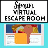 Spanish Sub Plan - Spain Virtual Escape Room