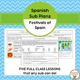 Spanish Sub Plans:  Festivals of Spain