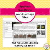 Spanish Sub Plans:  World Heritage Sites of Latin America