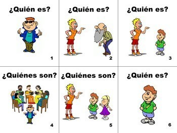 Spanish Subject Pronouns Identification Flashcards
