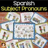Spanish Subject Pronouns   Spanish Subject Pronouns Classr