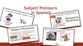 Spanish Subject Pronoun Presentation