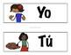 Spanish Subject Pronoun Strips