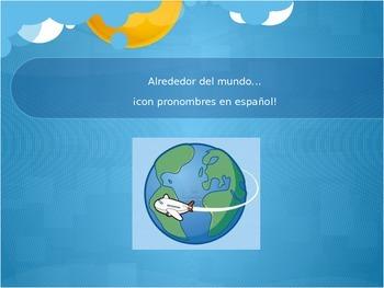 Spanish Subject Pronouns - Around the World PowerPoint