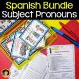 Spanish Subject Pronouns BUNDLE