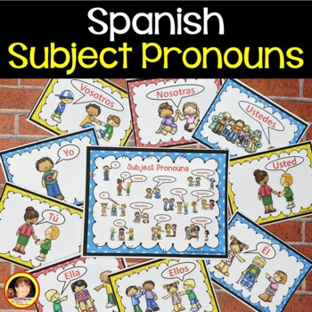 Spanish Subject Pronouns BUNDLE