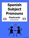 Spanish Subject Pronouns Game Cards and Flashcards - Pronombres Personales