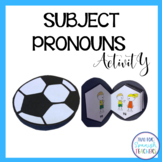 Spanish Subject Pronouns {Interactive Activity}