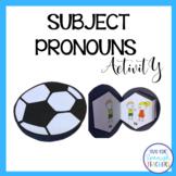 Spanish Subject Pronouns {Interactive Activity}