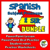 Subject Pronouns and Ser  PowerPoint Lesson Bundle