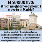 Spanish - Present Subjunctive - A real estate agent in Madrid