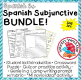 Spanish - Present Subjunctive BUNDLE!