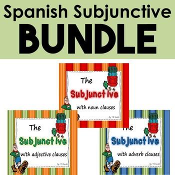 Spanish Subjunctive Bundle