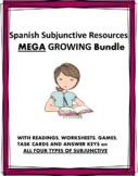 Spanish Subjunctive MEGA Bundle: 22 Products @50% off! Subjuntivo (ALL 4 FORMS)