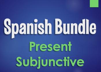 Spanish Subjunctive Monster Bundle