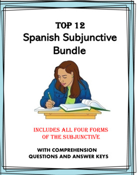 Spanish Subjunctive Bundle: All Four Forms: Sunjuntivo: 10 Products at 40% off
