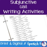 Spanish Subjunctive Ojalá Writing Exercises