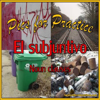 Spanish Subjunctive Pics for Practice Powerpoint