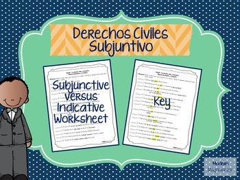 Spanish Subjunctive Practice Worksheet (Español Subjuntivo)