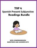 Spanish Subjunctive Reading Bundle - 4 Lecturas en el Subjuntivo! (30% off)