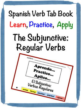 Spanish Subjunctive (Regular) Tab Book