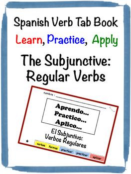 Spanish Subjunctive (Regular) Tab Book