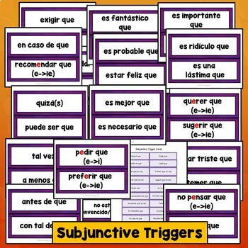 Spanish Subjunctive Triggers