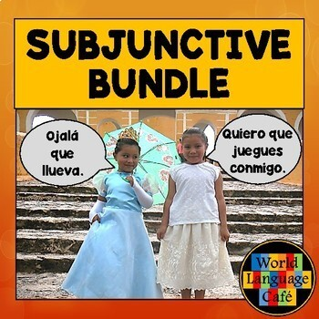 Spanish Subjunctive Lesson Plans:  Games, Quizzes, Activities, Songs