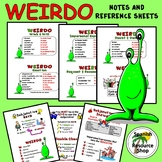 Spanish Subjunctive WEIRDO Notes