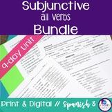 Spanish Subjunctive all verbs with WEIRDO bundle