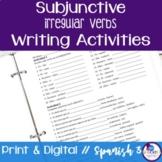 Spanish Subjunctive Irregular Writing Exercises