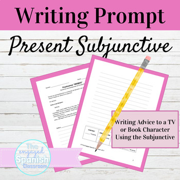 Spanish Subjunctive tense writing opportunity, giving advice